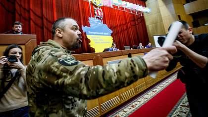 """Хто та чому міг убити активіста Віталія Олешка """"Сармата""""  у Бердянску"""