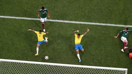Бразилия обыграла Мексику и вышла в четвертьфинал Чемпионата мира