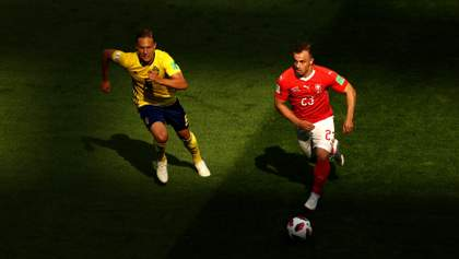 Швеция минимально победила Швейцарию на чемпионате мира и вышла в четвертьфинал