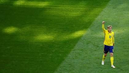 Швеция – Швейцария: видео голов и моментов матча