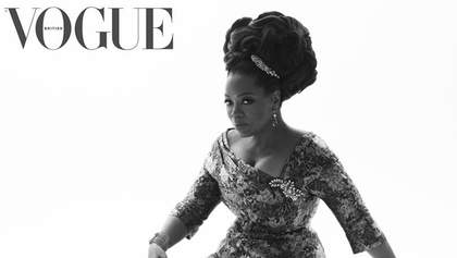 Опра Уинфри снялась для Vogue и прокомментировала президентские амбиции