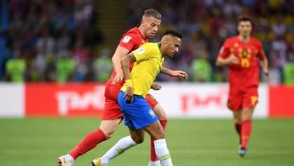 Бразилия – Бельгия: видео голов и моментов матча Чемпионата мира