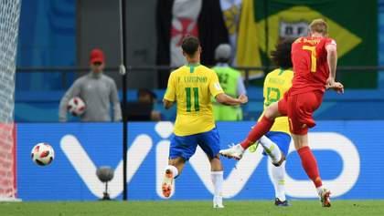 Бельгия победила Бразилию и вышла в полуфинал Чемпионата мира