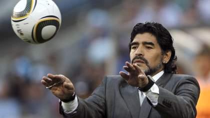 Марадона негативно отозвался о судействе в матче Колумбия – Англия