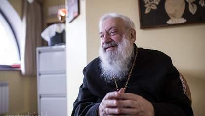 Киевлян призывают голосовать за переименование проспекта в честь Патриарха Любомира Гузара