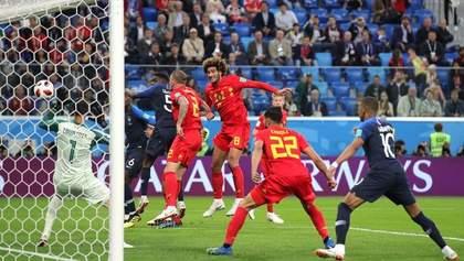 Франция – Бельгия: видео гола и моментов матча Чемпионата мира