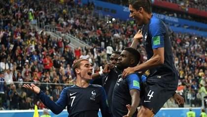 Франция минимально обыграла Бельгию и вышла в финал Чемпионата мира