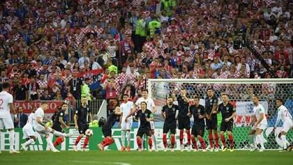 Хорватия – Англия: видео голов и моментов матча Чемпионата мира