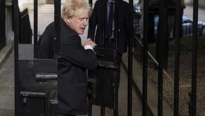 Міністр закордонних справ Великобританії Борис Джонсон подав у відставку