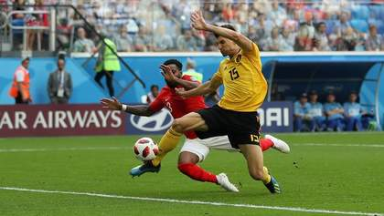 Англия – Бельгия: видео голов и моментов матча Чемпионата мира