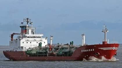 В Одесский порт прибыл первый в этом году танкер с газом для автомобилей