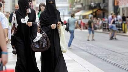 Заборона нікаба в Данії: поліція вперше оштрафувала жінку