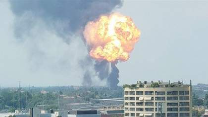 Потужний вибух прогримів в аеропорту Болоньї: фото і відео