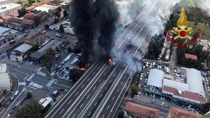 Количество пострадавших от взрыва в Болонье уже превысило сотню
