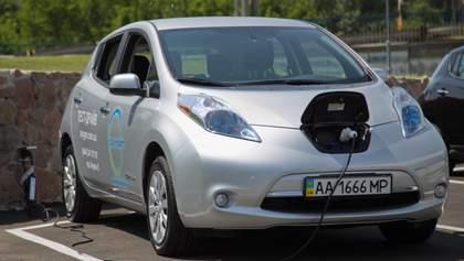 Електромобілі в Україні: названо десятку найпопулярніших