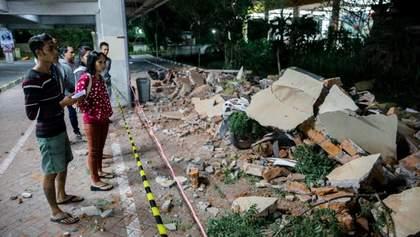 Землетрясение на индонезийском острове Ломбок: число жертв превысила 400