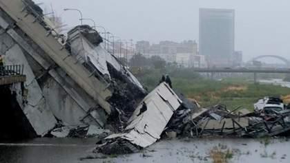 Обвал мосту в Італії: злива і шквальний вітер загрожують новими жертвами