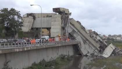 Обвал мосту в Італії: кількість жертв зросла до 30 осіб