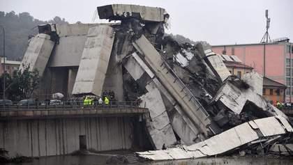 В правительстве Италии заявили, что снесут разрушенный в Генуе мост и найдут виновных
