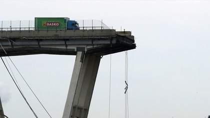 У Генуї встановили особи 19 загиблих внаслідок руйнування мосту Моранді