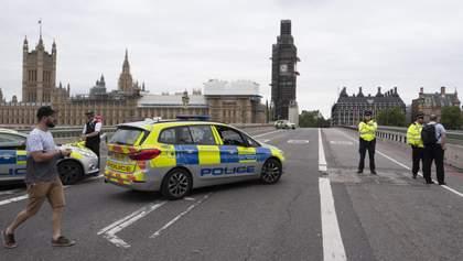 Наезд на людей в Лондоне: появились фото и детали о нападавшем