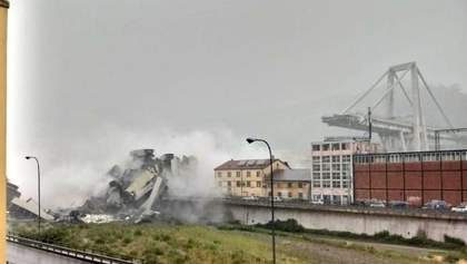 Приклад невдалої технічної думки, – експерт про обвалений міст Моранді у Генуї