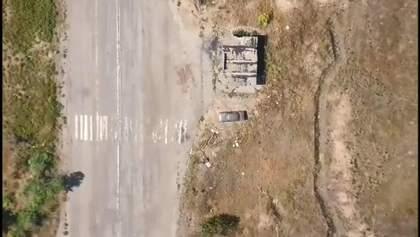 Ярош опубликовал видео авиаударов по позициям пророссийских боевиков