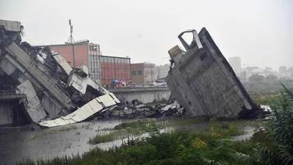 Обвал мосту в Генуї: уряд Італії розпочав розслідування проти компанії, що обслуговувала міст