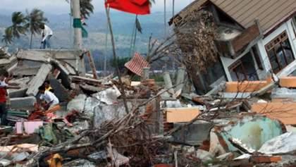 Індонезійський острів Ломбок знову сколихнув потужний землетрус