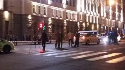 У стрілянині під Харківською мерією могла постраждати дитина
