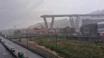Обвал моста в Генуе: жители вышли на молчаливые протесты