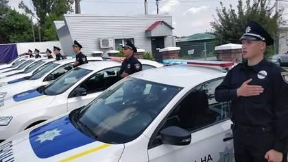 60 новых работников полиции будут патрулировать международную автомагистраль на Киевщине