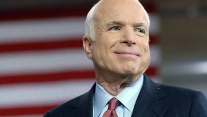 Помер Джон Маккейн: в Україні на честь сенатора можуть перейменувати вулицю