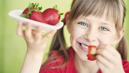 Які продукти потрібно вживати дітям щодня