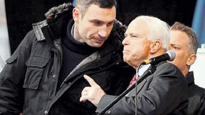Кличко вирушив до США попрощатися із Маккейном: його запросила сім'я сенатора