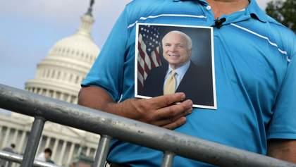 Похорон Джона Маккейна: відео прощання з легендарним сенатором
