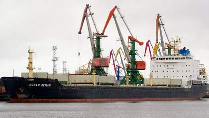 Росія заявляє, що Данія затримала її судно