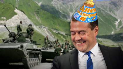 Миниатюрный друг Путина: топ-факты о Медведеве