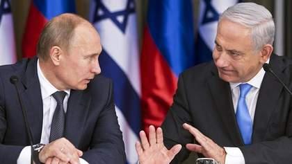 Ізраїль навіть після падіння російського літака продовжить удари по Сирії: заява Нетаньяху