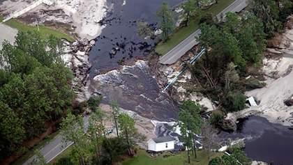 """Зросла кількість жертв урагану """"Флоренс"""" в США: жахливі фото стихії"""