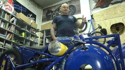 Такого еще не делал никто: харьковчане создали чудо-мотоцикл для необычного чемпионата