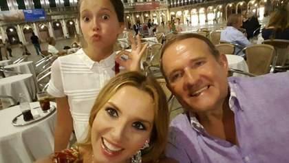 Як зараз виглядає 14-річна донька Марченко і Медведчука, яку хрестив Путін