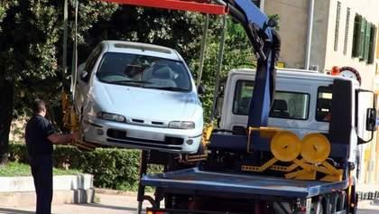 В Киеве будут эвакуировать автомобили по завышенному тарифу