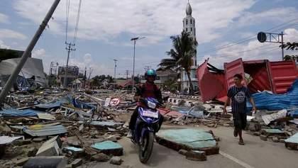 Землетрус і цунамі в Індонезії: кількість жертв перевищила 1200 осіб