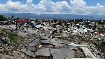 В Индонезии произошло новое сильное землетрясение