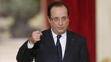 Олланд назвав єдиний спосіб повернення територіальної цілісності України