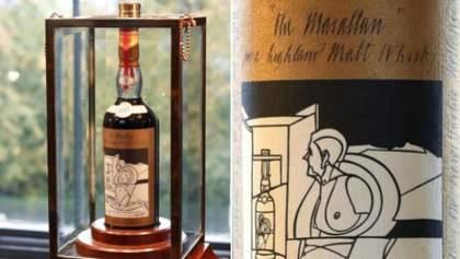 В Эдинбурге продали самую дорогую в мире бутылку виски