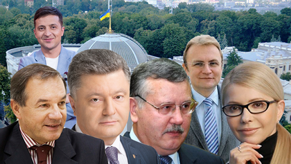 Вибори Президента України-2019: за кого з кандидатів голосуватимете?