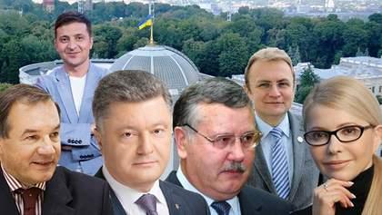 Выборы Президента Украины-2019: за кого из кандидатов будете голосовать?