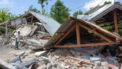 В Індонезії стався новий потужний землетрус: є загиблі